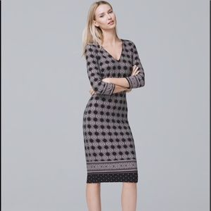 White House Black Market Reversible Sheath Dress